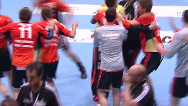 Video «Handball: Cupfinal der Männer in Sursee» abspielen