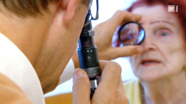 Video «Die Augen sind wichtig bis zuletzt» abspielen