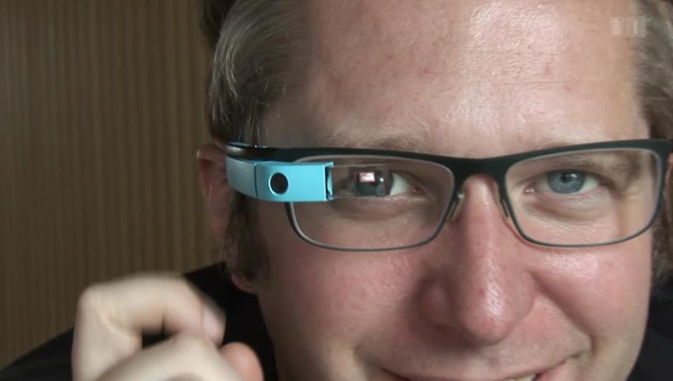 Google Glass verspricht die digital erweiterte Pupille