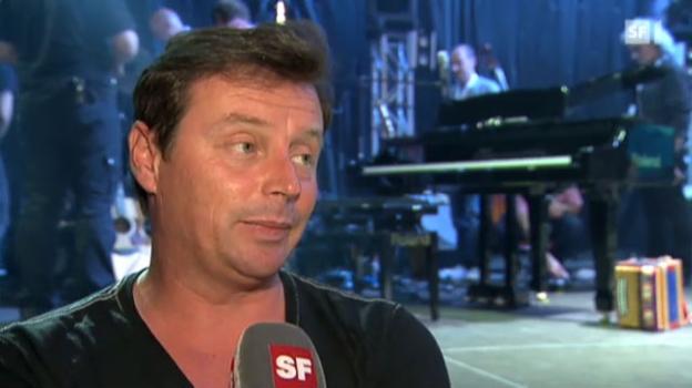 Video «Florian Ast über Francine Jordis Abwesenheit (Sendung vom 25. Juni 2012)» abspielen