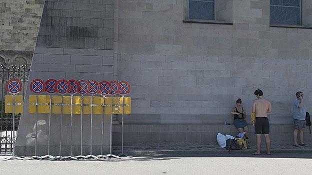 Warten als Ausstellung – das Forum Schlossplatz Aarau wagt dieses Experiment