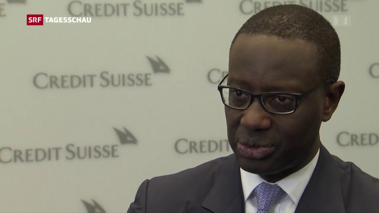 Credit Suisse mit schlechten Zahlen