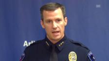 Video «Polizeichef von Arlington zur Untersuchung.» abspielen