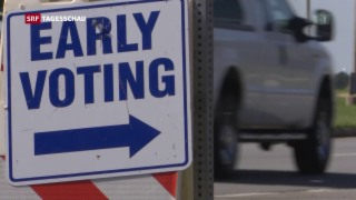 Video «Grosses Wahlinteresse in den USA» abspielen