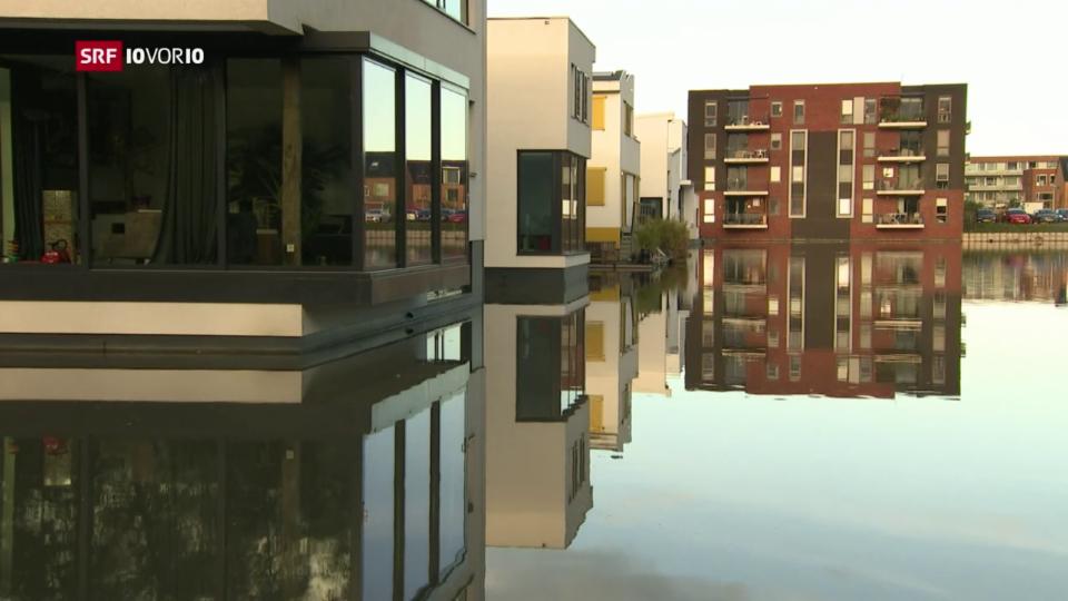 Schwimmende Häuser für den ansteigenden Meeresspiegel?