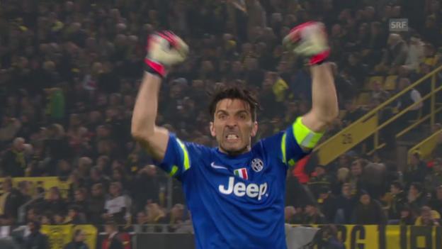 Video «Fussball: Champions League, Gianluigi Buffon träumt vom Titel» abspielen