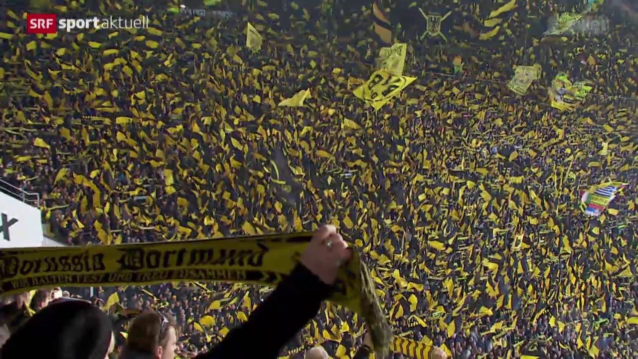 Fussball: Bundesliga, Borussia Dortmund - Bayern München