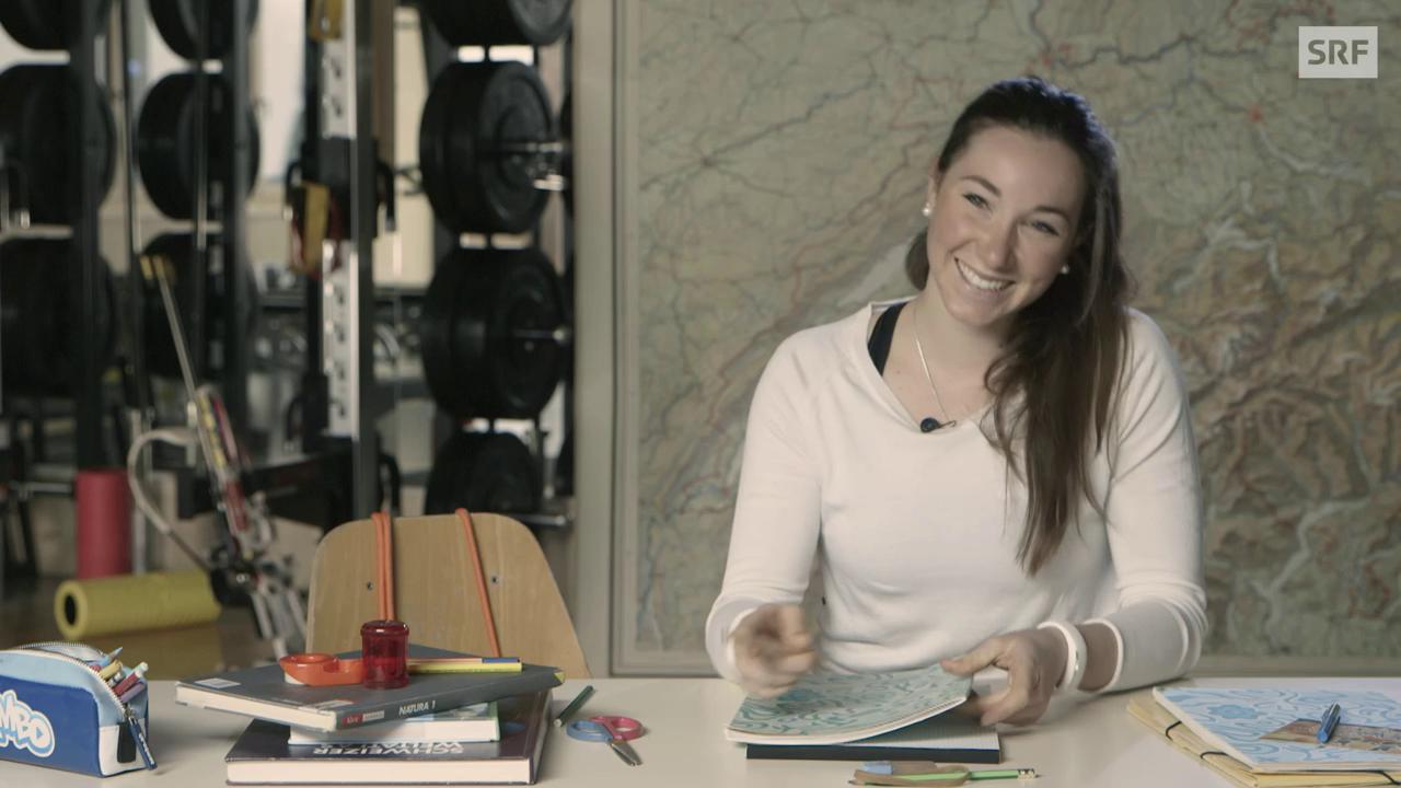 Wie glücklich macht Aita Gasparin ihre Biolehrerin?