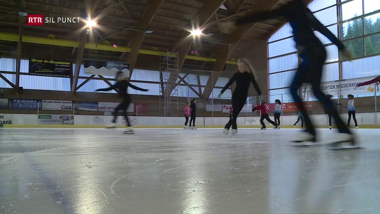 Princessas sin il glatsch: In camp da patinar a Flem