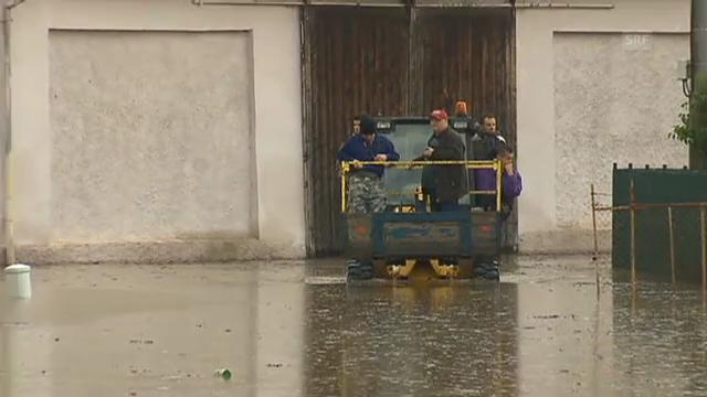 Hochwasser in Tschechien steigt weiter. (unkommentiert)