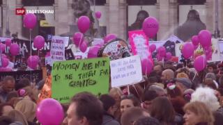 Video «Gewalt gegen Frauen: Eine EU-Abgeordnete erzählt ihre Geschichte» abspielen