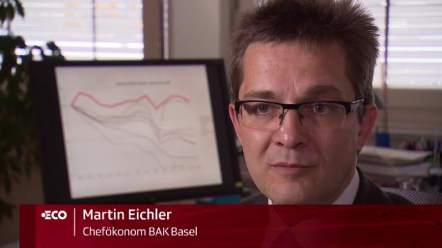 Video «Martin Eichler über die Chancen der Schweizer Industrie» abspielen