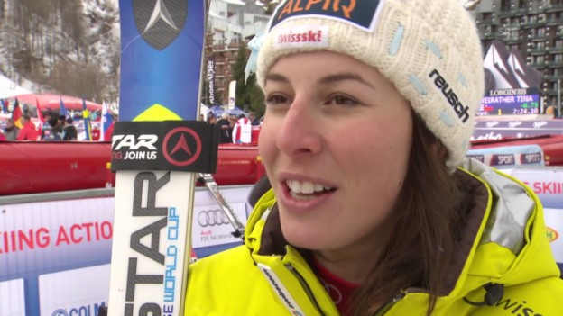 Video «Ski alpin: Interview mit Dominique Gisin» abspielen