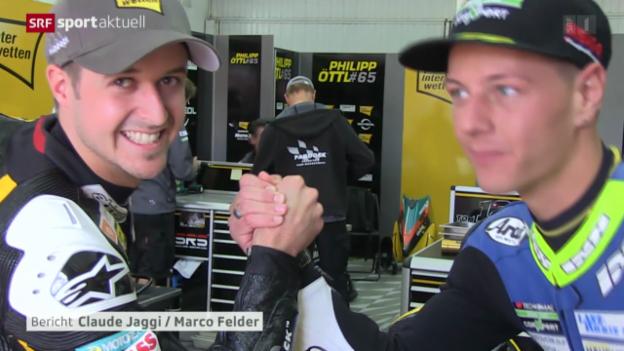 Video «Motorrad: Qualifying in Valencia» abspielen