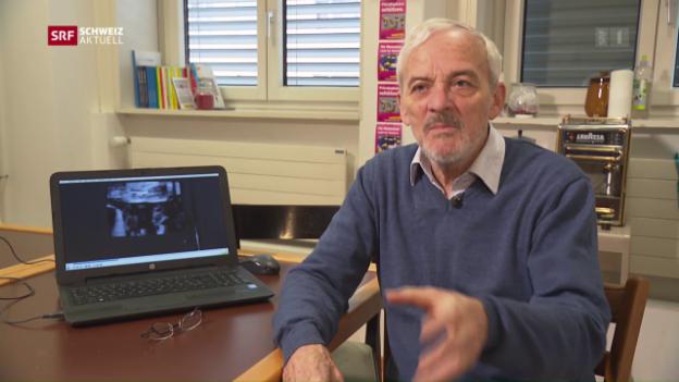 Video «Polit-Urgestein Niklaus Scherr tritt ab» abspielen