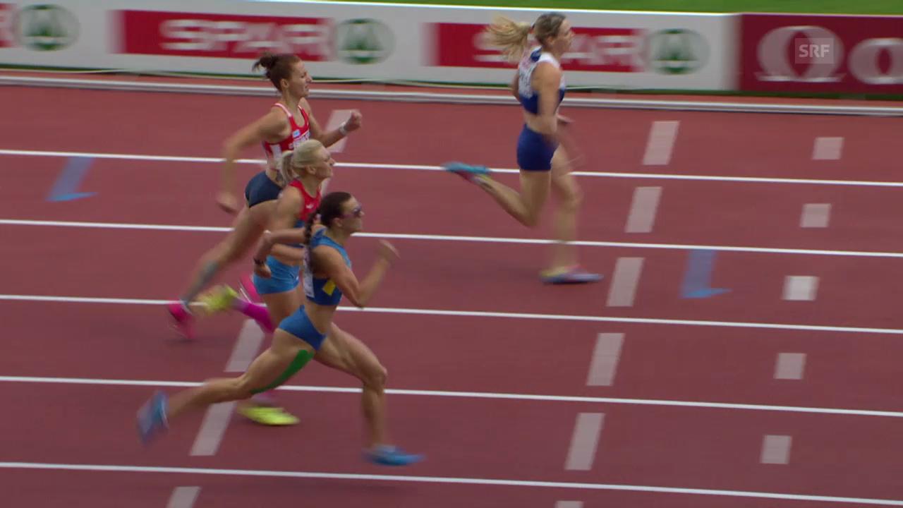 LA: EM, Final 400 m Hürden Frauen