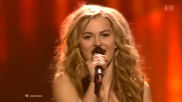 Video «Dänemark gewinnt den Eurovision Song Contest 2013» abspielen