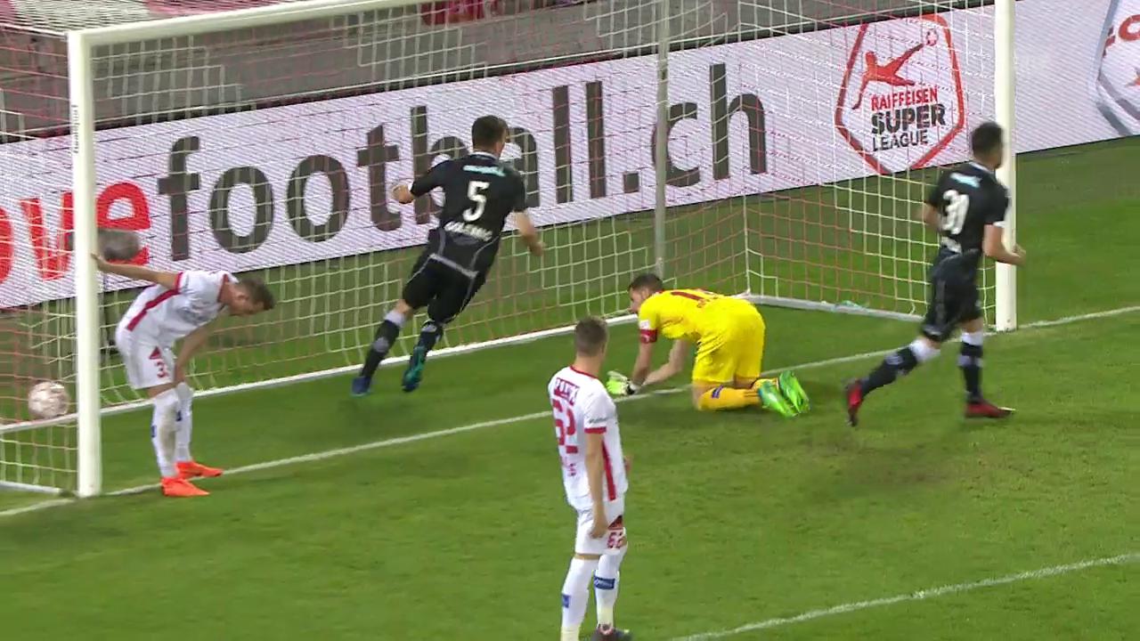 Lugano siegt gegen Sion