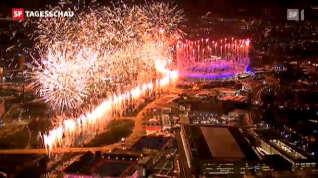 London und die Welt feiern Olympiaeröffnung