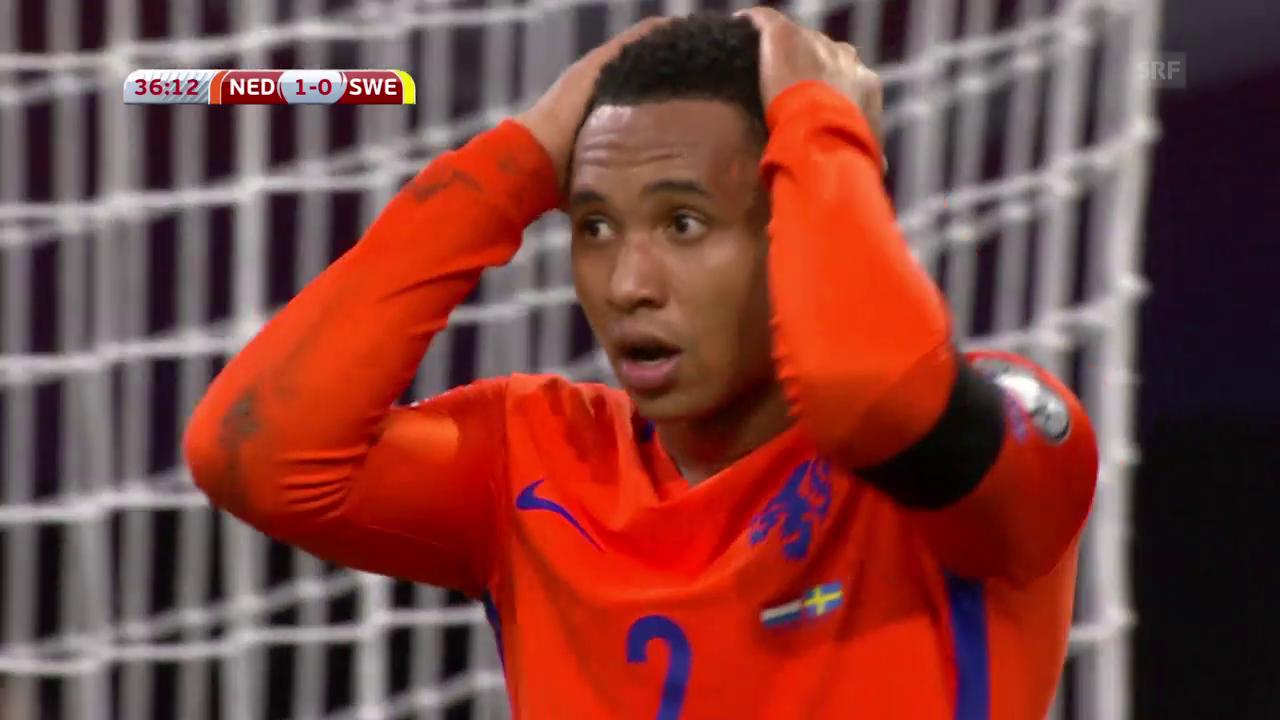 Wertloses 2:0 für die Niederlande gegen Schweden