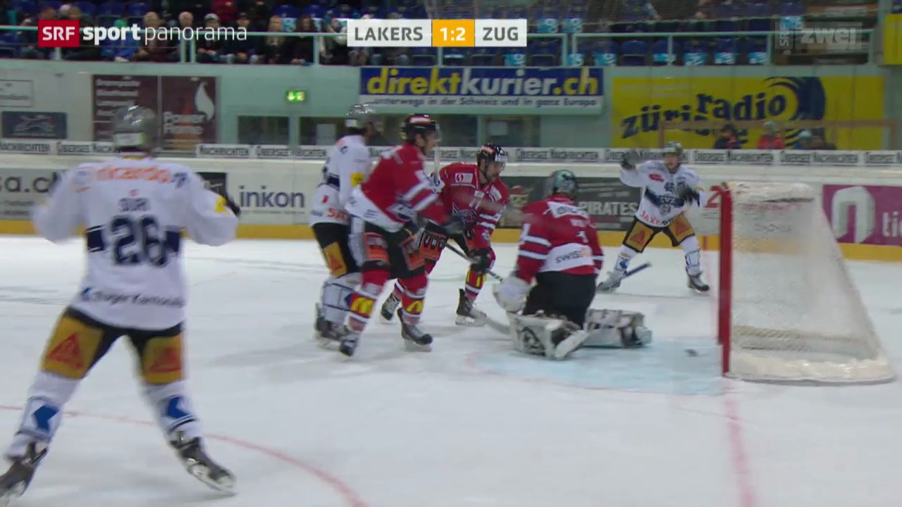 Eishockey: NLA, Lakers - Zug