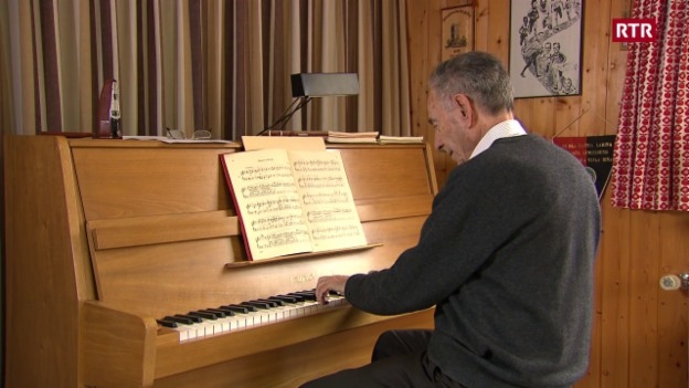 Laschar ir video «A Gion Giusep Derungs sin ils 85»