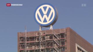 Video «VW und US-Behörden einigen sich im Abgasskandal» abspielen