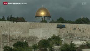 Video «Weiterer Terrorakt in Jerusalem» abspielen
