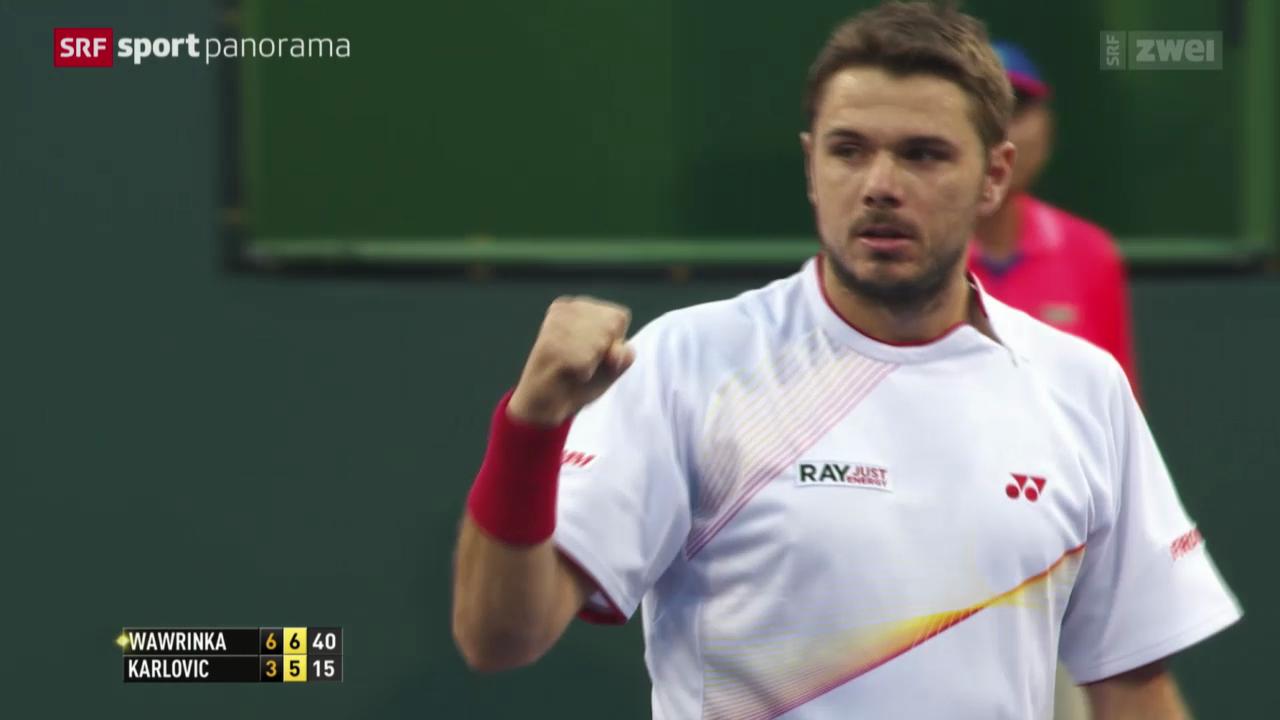 Tennis: ATP 1000 in Indian Wells