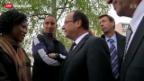 Video «Bitterer Jahrestag für Frankreichs Präsident Hollande» abspielen