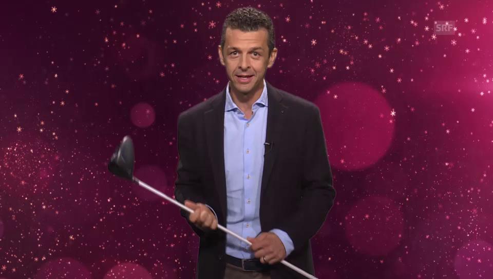 18. Dezember: Golfen mit Jann Billeter