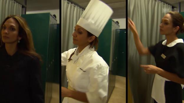 Video «Luxus Hotel - Blick hinter die Sterne» abspielen