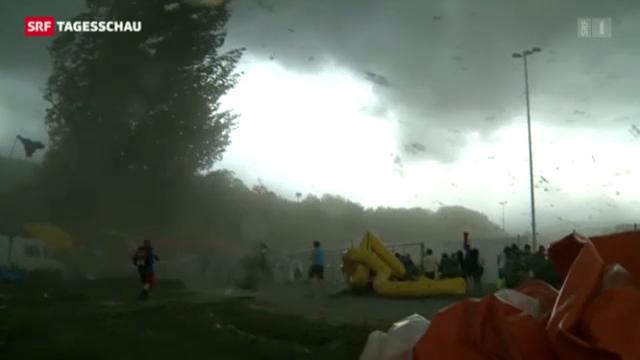 Bilder des Sturms: Zeuge berichtet
