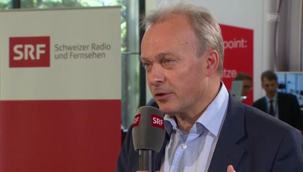Video «Urs Schaeppi, Konzernchef Swisscom, zur Allianz mit Tamedia» abspielen