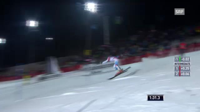 Slalom Semmering: Sturz von Michelle Gisin