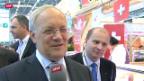 Video «Schneider-Ammann an Frankreichs Agrarmesse» abspielen