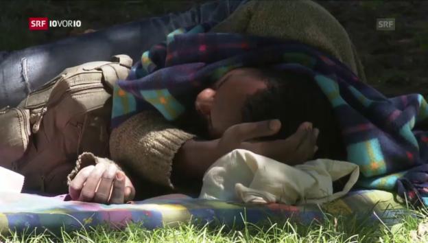 Video «Schweizer Grenze: Weniger Flüchtlinge - mehr Probleme» abspielen