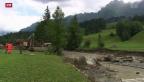 Video «Schangnau bereitet sich auf die nächste Flut vor» abspielen