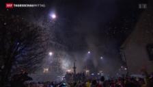 Video «Fasnachtsauftakt in Luzern» abspielen