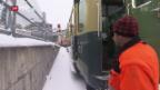 Video «Vorbereitungen fürs Lauberhornrennen» abspielen