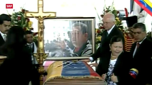 Trauerfeier für Hugo Chavez