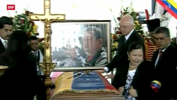 Video «Trauerfeier für Hugo Chavez» abspielen