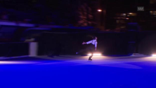 Video «Auftritt von Stéphane Lambiel» abspielen