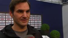 Link öffnet eine Lightbox. Video Federer: «Nicht so stressig, wie man meint» abspielen