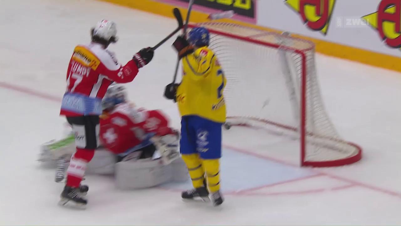 Eishockey: Schweden-Schweiz