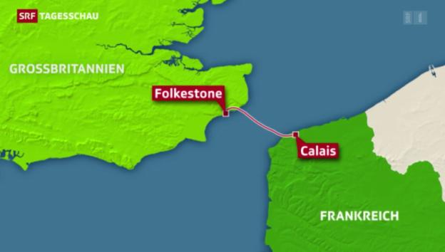 Video «Frankreich und Grossbritannien verstärken die Grenzsicherung» abspielen