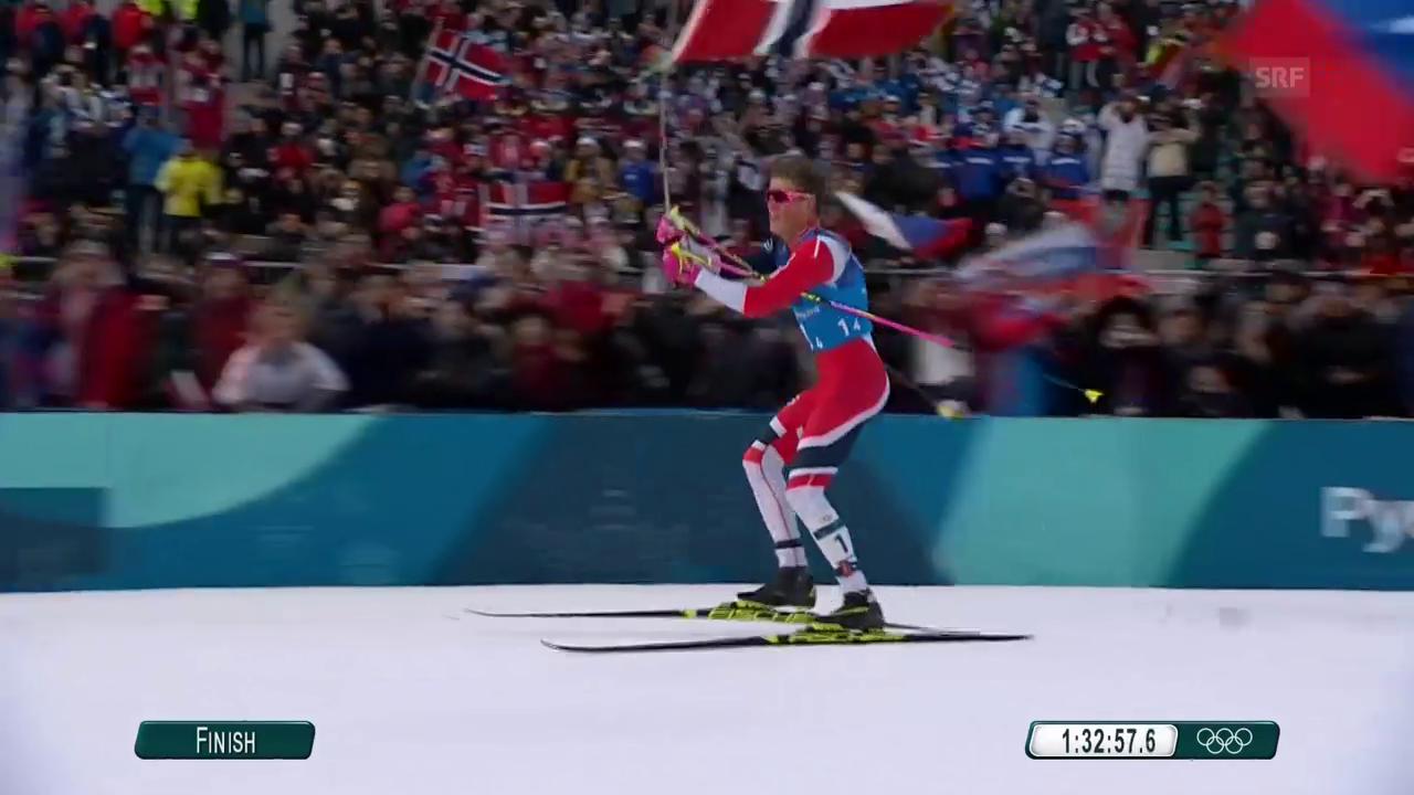 Norwegen gewinnt Langlauf-Staffel - Schweizer enttäuschen