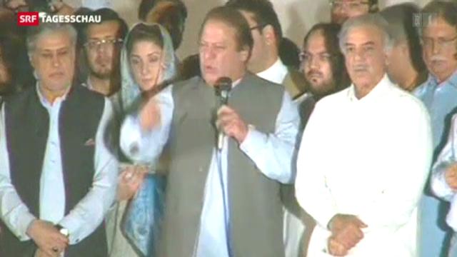 Sharif gewinnt Parlamentswahlen in Pakistan
