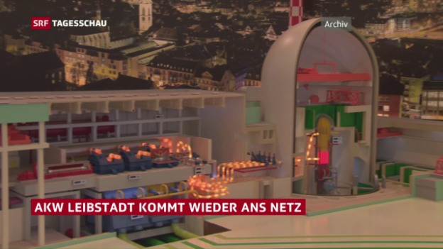 Video «AKW Leibstadt kommt wieder ans Netz» abspielen