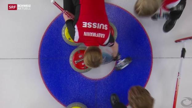 Video «Curling-Boom nach Weltmeister-Titel» abspielen